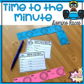 Time to the Minute Domino Races