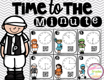 Time to the Minute-Football (3.MD.A.1)
