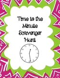 Time to the Minute Scavenger Hunt