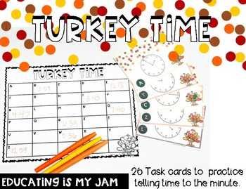 Time to the Minute - Turkey Scoot