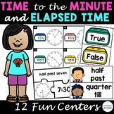 Time to the Minute and Elapsed Time Centers, Third Grade M