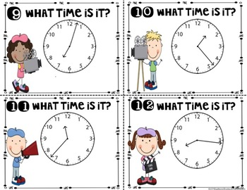 Time to the Minute  (3.MD.A.1)