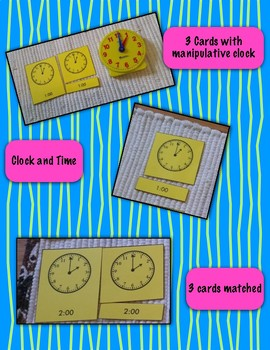 Time to the Nearest Half Hour - 3 Part Self-correcting Cards {Differentiated}