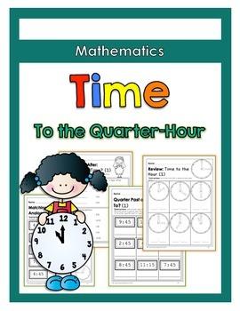 {Grade 2} Time to the Quarter-Hour