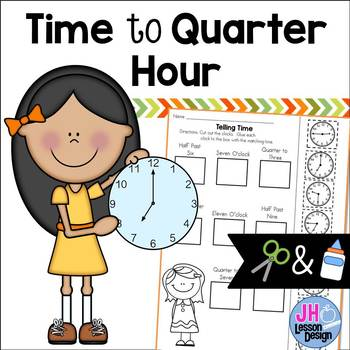 Time to the Quarter Hour: Cut and Paste