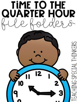 Time to the Quarter Hour File Folders
