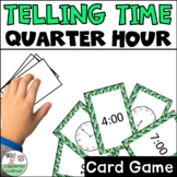 Time to the Quarter Hour Go Fish Review Game