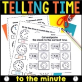 Time to the minute Worksheets
