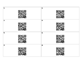 Time to the nearest minute QR scan