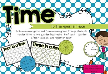 Time (to the quarter hour)