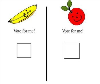 Time to vote! for young students