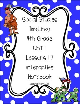 TimeLinks - 4th Grade Unit 1 Interactive Notebook