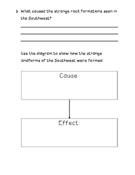 TimeLinks - 4th Grade Unit 6 - The Southwest - Interactive Notebook