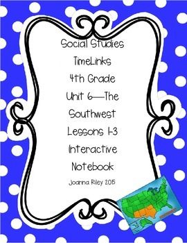 TimeLinks - 4th Grade Unit 6 - The Southwest - Interactive