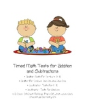 Timed Addition and Subtraction Tests
