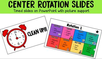 Timed Center Rotation PowerPoint