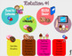 Timed Centers Rotations - 4 Groups - Sweets Themed - *EDITABLE*