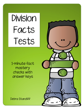 Division Facts Tests