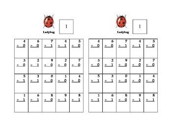 Timed Math Drills