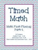 Timed Math (Fact Fluency, Part 2)
