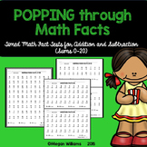 Timed Math Fact Fluency Tests