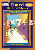 Timed Math Problems - 10 Minute Problems - Working Backwards
