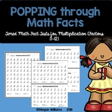 Timed Multiplication Fact Fluency Tests