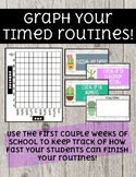 Timed Routine Graphs