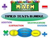Timed Tests and Time-Saving Answer Keys BUNDLE!