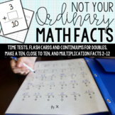 Timed Tests for Doubles, Make a Ten Facts, Mental Math, and Multiplication