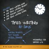 Timed Writing: 30 Days (Minimum Wage)