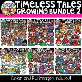 Timeless Tales Clipart Growing Bundle 2 {Reading Clipart}