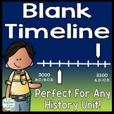 Blank Timeline Template: Perfect for any History Timeline!