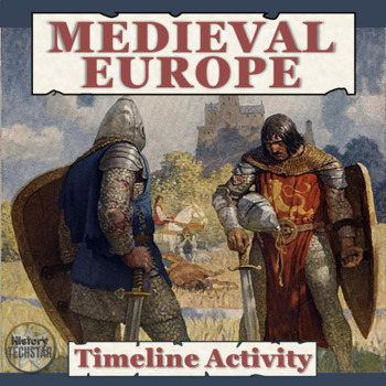 Medieval Europe Timeline Activity for Interactive Notebook