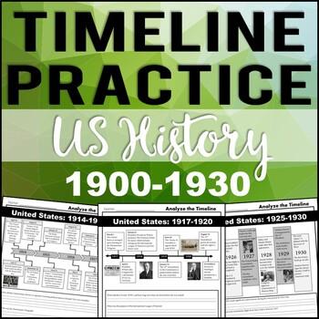 Timeline Analysis: US History 1900-1930