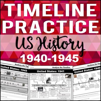 Timeline Analysis: US History 1940-1945 (Pearl Harbor, WWII)