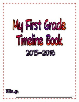 Timeline Book - Calendar Practice and Memory Keeper