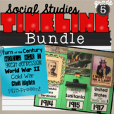 Timeline Bundle for 5th grade Social Studies