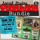 Timeline Bundle for 5th grade Social Studies