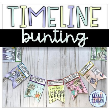 Timeline Bunting Project Template