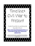 Timeline Civil War to Present