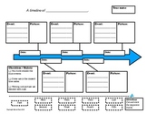 Timeline Graphic Organizer - With Interactive Cut and Past