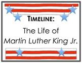 Timeline Illustrating Project: Martin Luther King