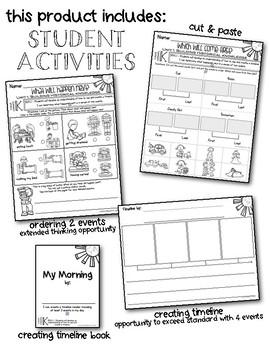 Timeline Kindergarten Social Studies Unit