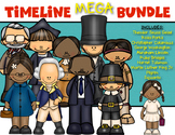 Timeline MEGA Bundle! Social Studies History for Kindergarten and First Grade