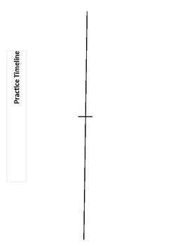 Timeline Outline