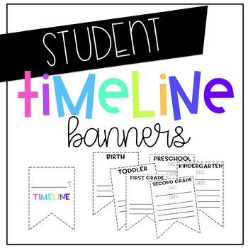 Timeline Pennant Banner