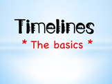 Introduction to Timelines Powerpoint & Questions - Digital