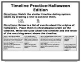 Timeline Practice Halloween Edition