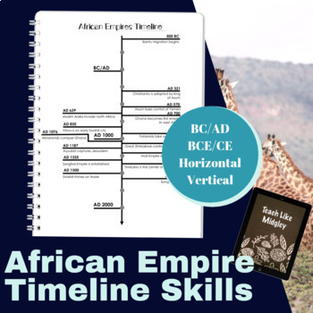 Timeline Practice with African Empires